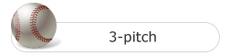 3-pitch button