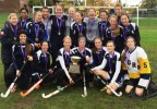 The Saltfleet Storm win their second H.W.I.A.C. field hockey championship.