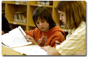 Picture of students learning