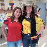 Two Columbian ladies