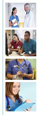 Collage for nurses working