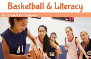 Basketball and Literacy banner - link to Basketball and Literacy program page
