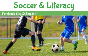 Soccer and Literacy banner - link to Soccer and Literacy summer program page
