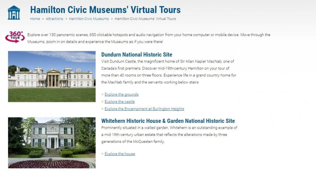 Museums Virtual Tour