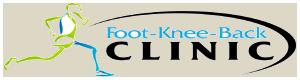 Foot Knee Back Clinic Logo
