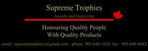 SUPREME TROPHIES Logo