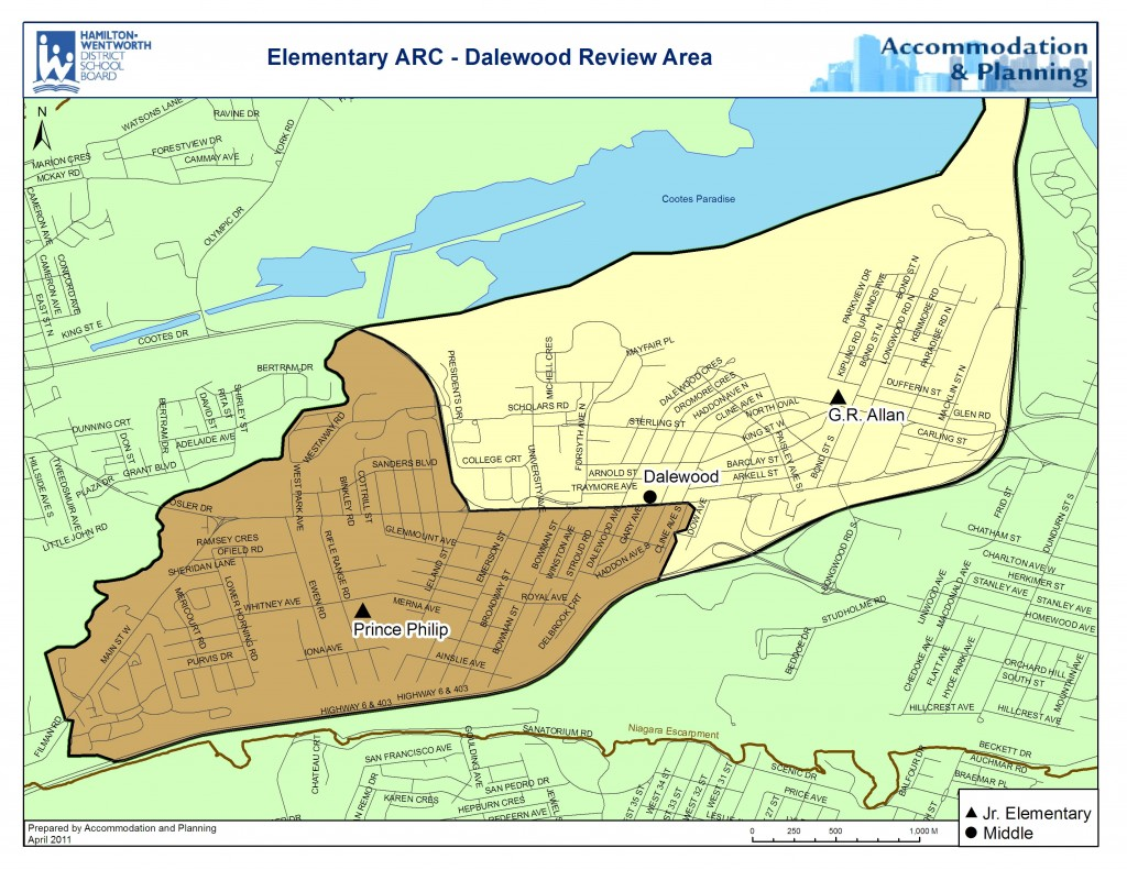 Dalewood Map Replacement