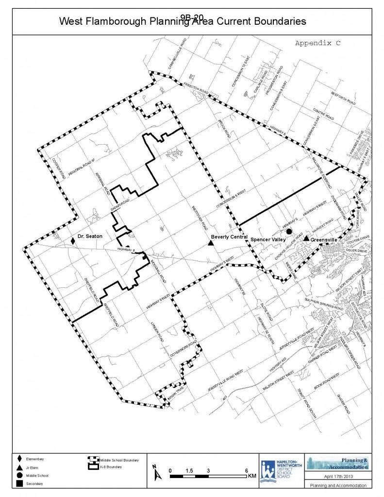 West Flamborough Map - Review Current Boundaries