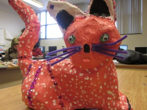 student work - a cat