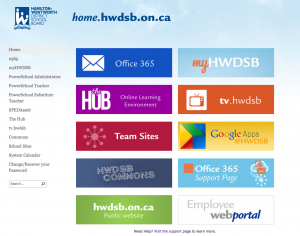 The Hub login