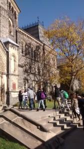 University or Toronto outside