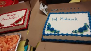 Cakes for Eid and Moon Festival!