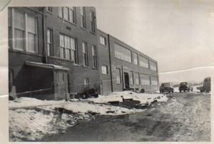 School in winter