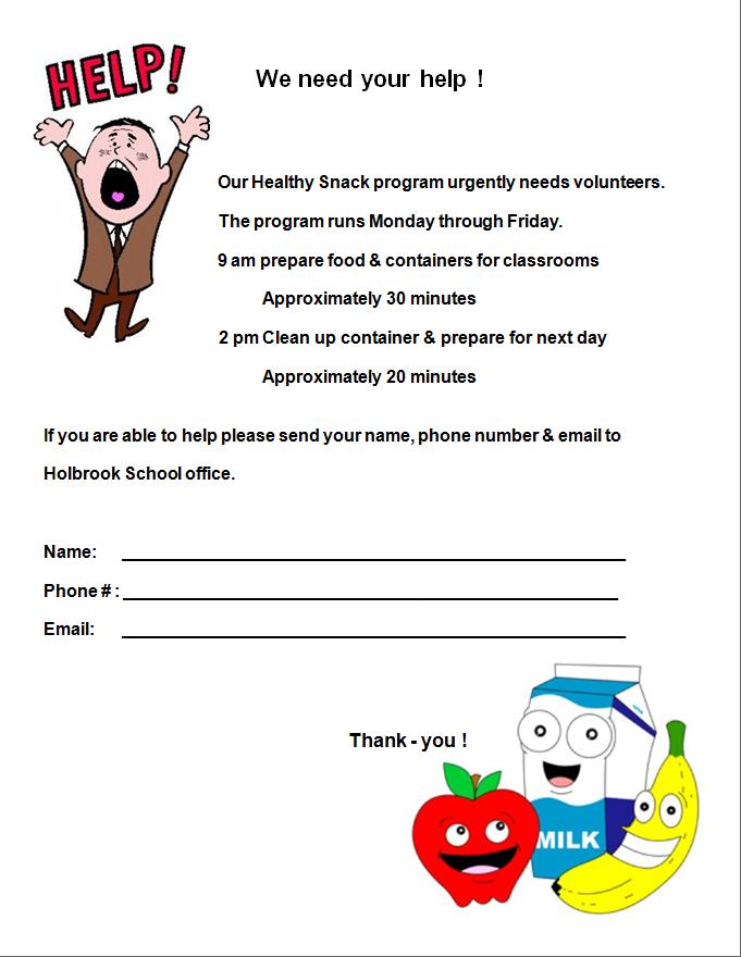 Healthy Snack Needs Your Help