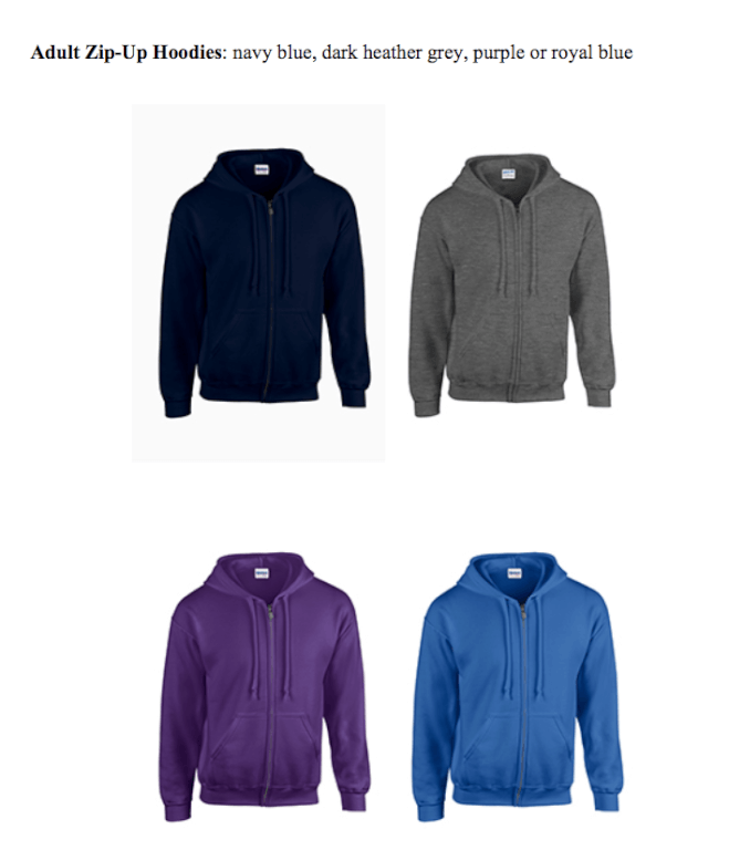 Adult Zip-Up Hoodies
