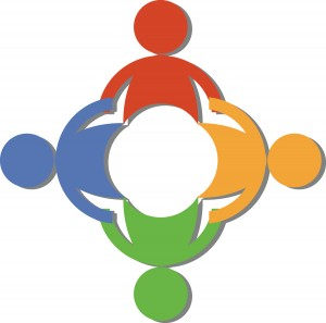 Logo of people holding hands