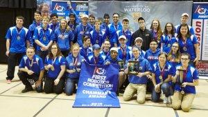 Orchard Park Robotics 2056 Waterloo Ontario Robotics Competition Chairman's Winner