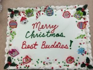 Merry Christmas - Best buddies cake