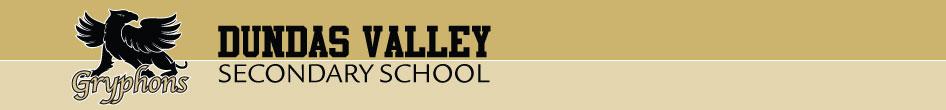 Dundas Valley Secondary School banner