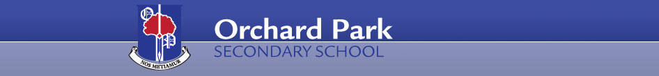 Orchard Park Secondary School banner