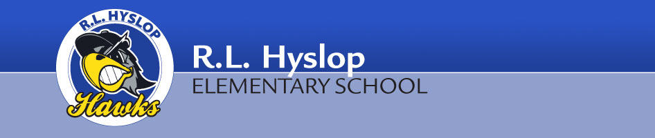 R.L. Hyslop Banner