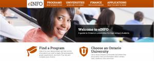 eINFO website thumbnail