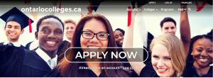 Ontario college website