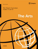 The Arts - Grade 11 - 12