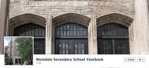 Visit the Westdale Yearbook Facebook page