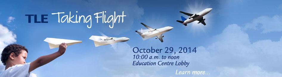 Taking flight - Learn more.