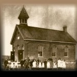 The old school as it was about 1895