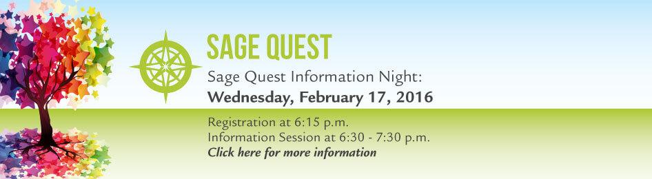 Sage Quest Banner