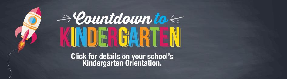 Kindergarten Orientation Banner