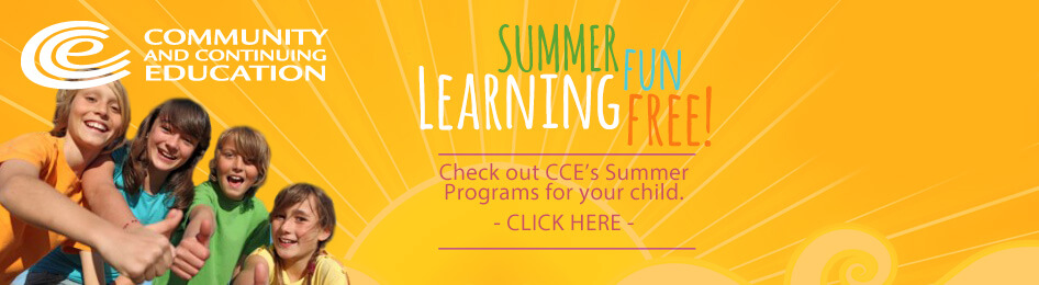 CCE Summer Programs