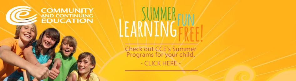 CCE Summer Programs