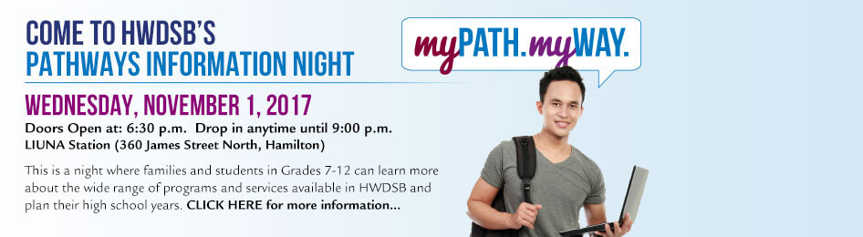 Pathways Information Night