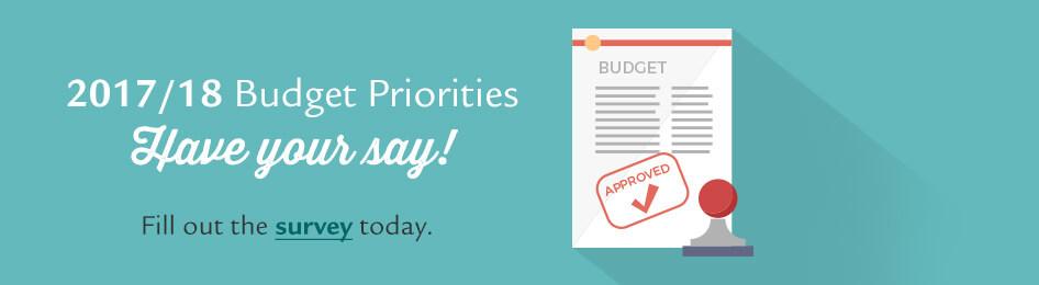 2017-18 Budget Priorities