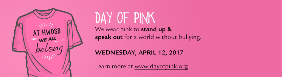 Day of Pink is on April 12, 2017