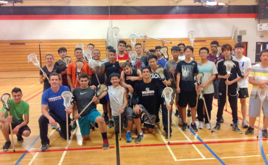 Lacrosse pro visits Glendale for OFSAA Try Day