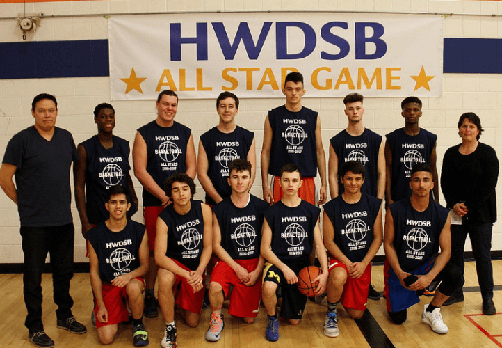 Basketball season concludes with boys all-star game