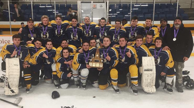 HOCKEY: Cinderella Saltfleet shocks Sherwood to capture division-I boys hockey title