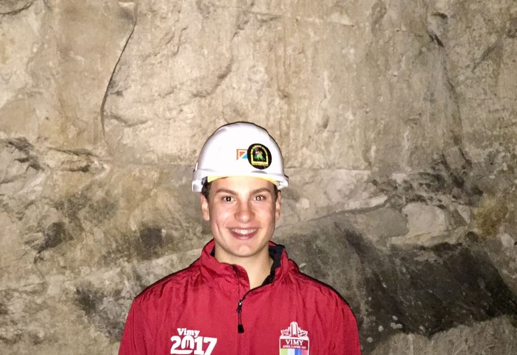 Westmount Student Wins Vimy Award