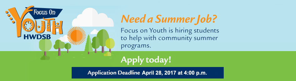 Need a Summer Job? Learn more