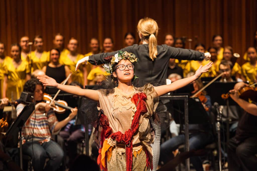 Glendale students join Hamilton Philharmonic Orchestra for Mendelssohn's A Midsummer Night's Dream