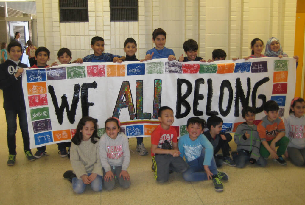 Bennetto embraces We All Belong