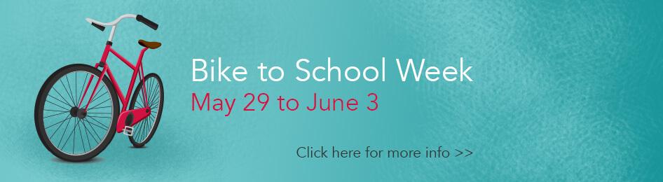 Bike to School Week ad