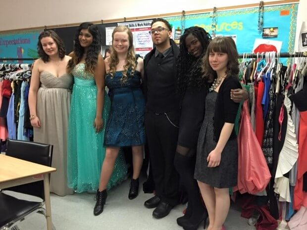 Prom Project events help ensure all students can attend formal events in style