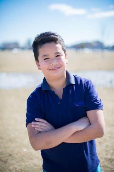 Darian, Grade 7