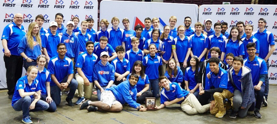Orchard Park Robotics Team Part of Alliance that Finishes Third in Worlds