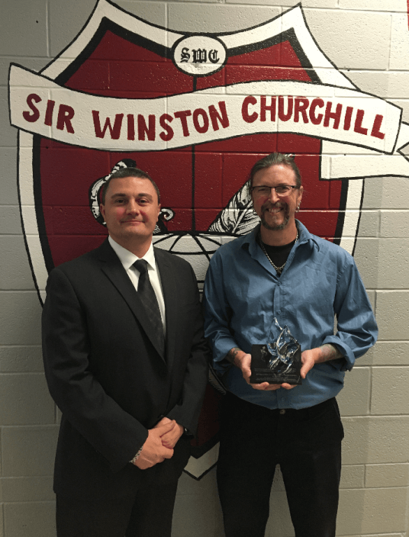 Churchill teacher wins Holocaust education award